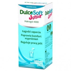 DulcoSoft Junior roztwór 100 ml