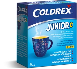 COLDREX JUNIOR 10 SASZ.