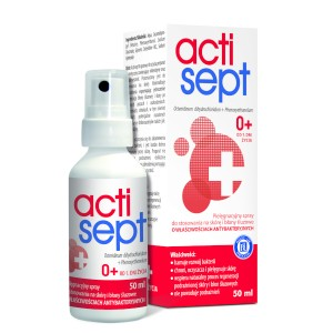 ACTISEPT SPRAY 50 ML