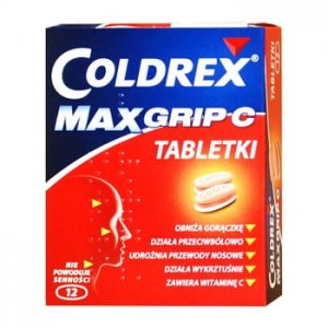 COLDREX MAXGRIP C  12 TABL.