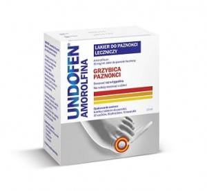 Undofen Amorolfina 50 mg/ml lakier do paznokci 2,5 ml