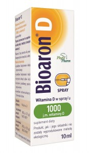 Bioaron D spray 1000 j.m. 10 ml