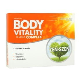 Body Vitality Complex 50+ 30 tabletek